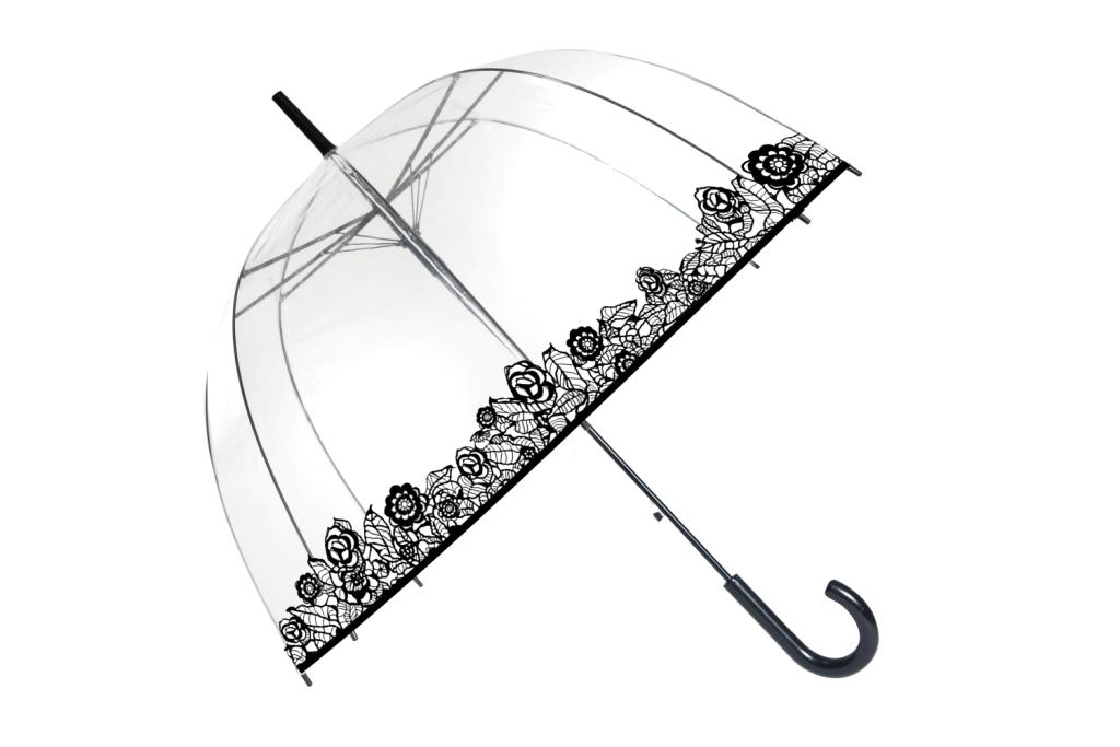 b7351fb4e51 Elegantne läbipaistev vihmavari Prantsuse brändilt Smati -72 ...